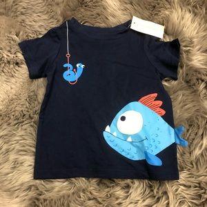 First Impressions T-Shirt: Fish (PM1616)